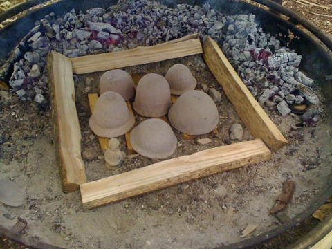 Building the kiln 1