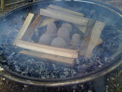 Building the kiln 2
